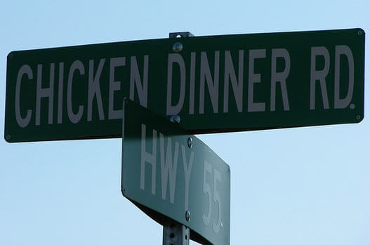 Chicken Dinner Rd.