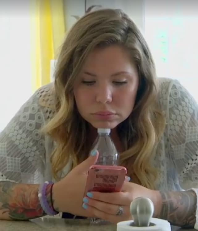 Kailyn lowry on her phone