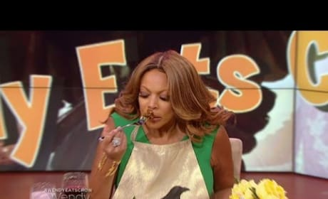 Wendy Williams Literally Eats Crow