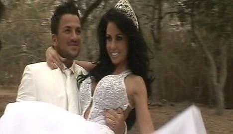 Katie Price Wedding Pic