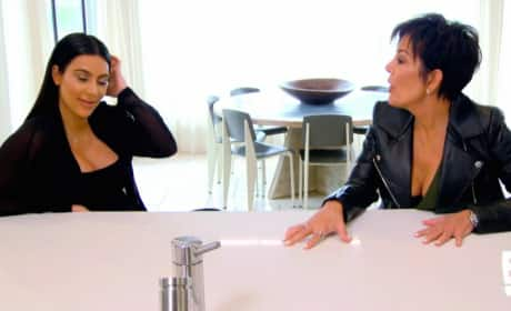 KUWTK Preview: Kris Fat-Shames Kim