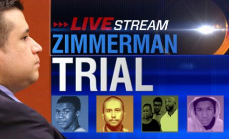 Live Zimmerman Trial
