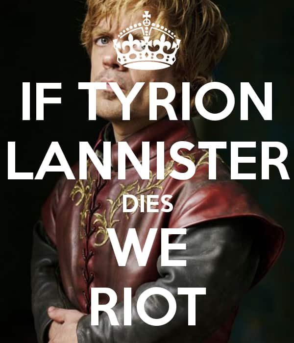 """Tyrion on """"The Game"""""""