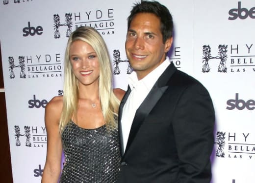 Joe Francis and Abbey Wilson