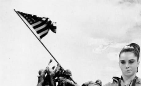 Not Impressed at Iwo Jima