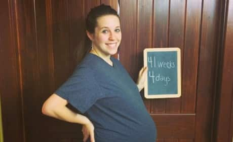 Jill Duggar Baby Bump: 41 Weeks In!