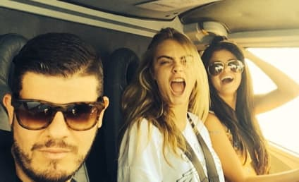 Selena Gomez and Cara Delevingne Party It Up in Italy!