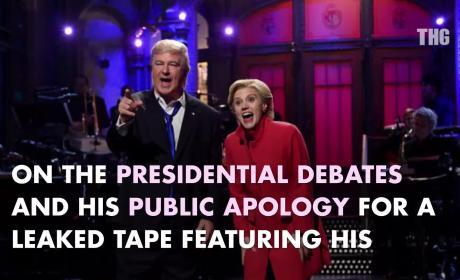 Alec Baldwin: Back as Donald Trump on SNL!