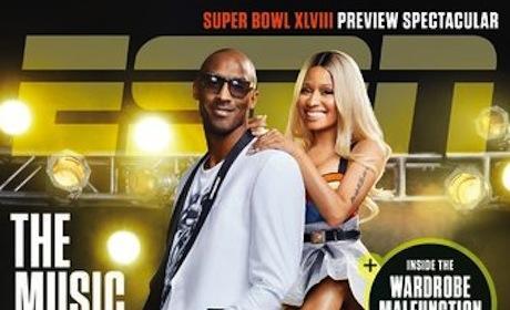 Nicki Minaj and Kobe Bryant ESPN Magazine Cover