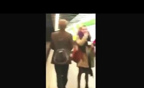 This Couple is Totally Having Sex at a Subway Station
