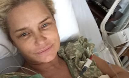 Yolanda Foster Shares New Lyme Disease Treatment Pics