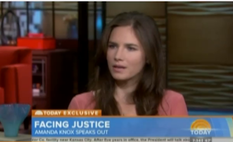 Amanda Knox on Today Show