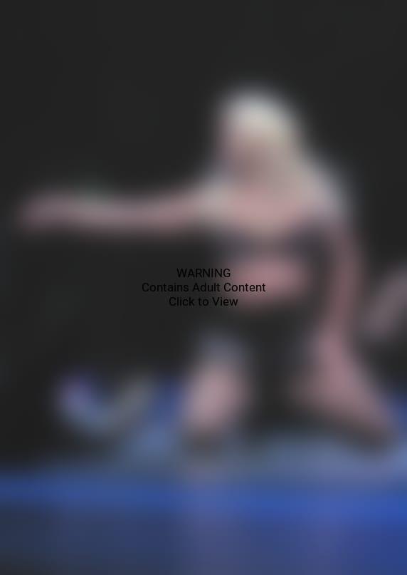 Britney on Her Knees