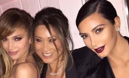Jennifer Lopez Parties With Kim Kardashian, Looks Ten Years Younger Than Mrs. West!