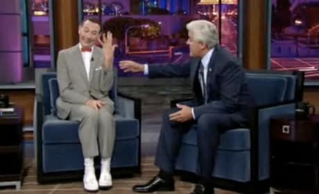 Pee Wee Herman On Leno
