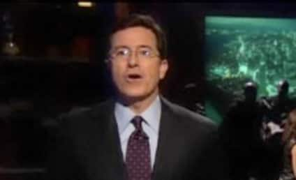 Stephen Colbert Raps, Is in Empire State of Mind