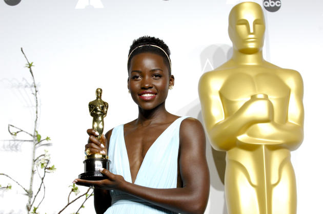 Lupita Nyong'o as a Winner
