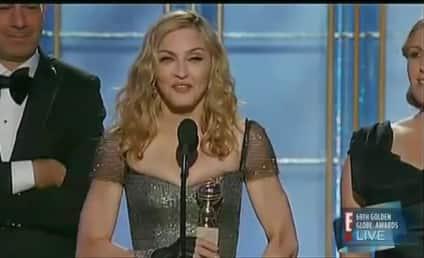 David Furnish on Madonna Golden Globe Win: F--k Off!