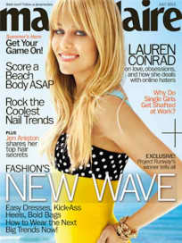 Lauren Conrad Marie Claire Cover