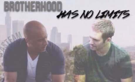Vin Diesel with Paul Walker