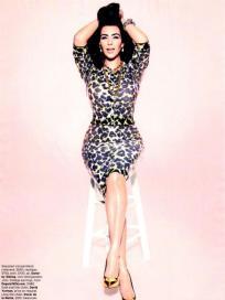 Kim Kardashian Elle Photo