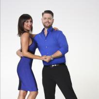 Jack Osbourne and Cheryl Burke