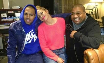 Chris Brown and Jennifer Lopez: In the Studio Together!