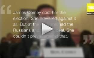 Bill Clinton Blames FBI, Russia For Trump Win