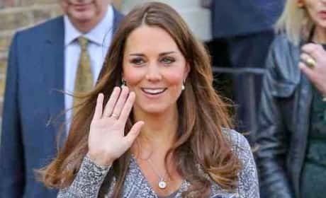 Duchess Kate Waves