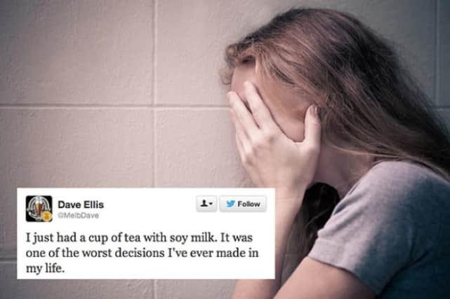 Tea with Soy Milk?!?