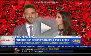Nick and Vanessa on Good Morning America