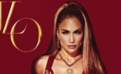 Jennifer Lopez Album Cover: Major Cleavage Alert!