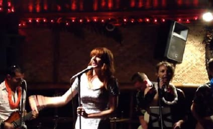 Florence Welch Gets Wasted, Covers Daft Punk