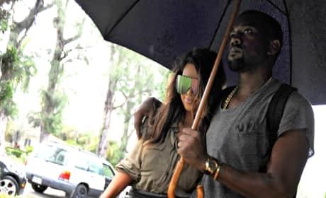 Kim and Kanye West