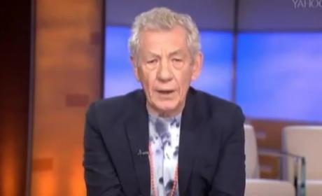 """Ian McKellen Recites """"Bad Blood"""""""