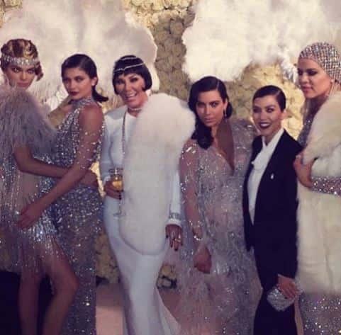 Kris Jenner Birthday Party Pic