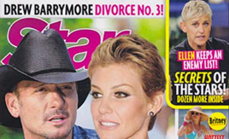 Star Magazine: Faith Hill & Tim McGraw Divorce