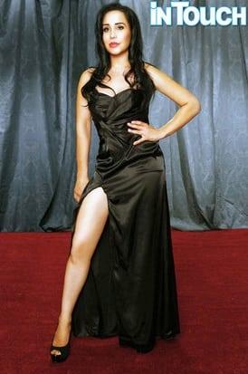 Octomom as Angelina Jolie