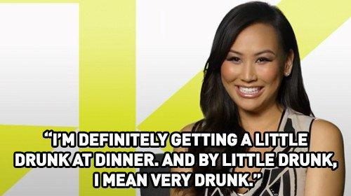 Dorothy Wang is a Drunk