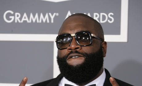 Rick Ross at Grammy Awards