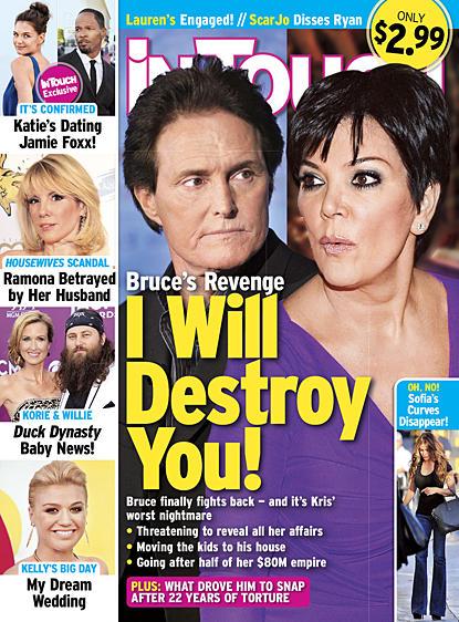 Bruce Jenner to Destroy Kris Jenner?