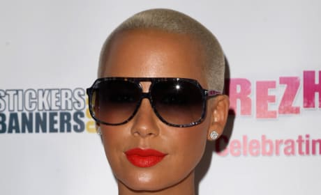 Amber Rose Close Up