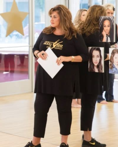 Abby Lee Miller on Dance Moms
