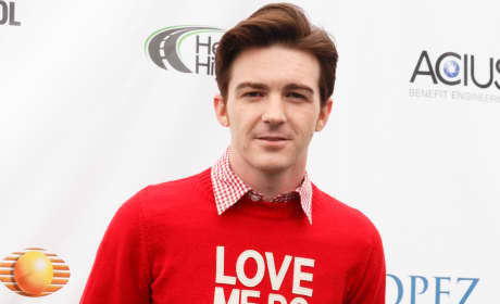 Drake Bell in Red