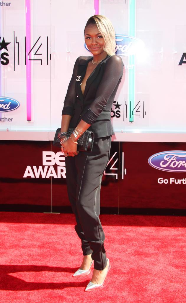 Elisa Johnson BET Awards Photo