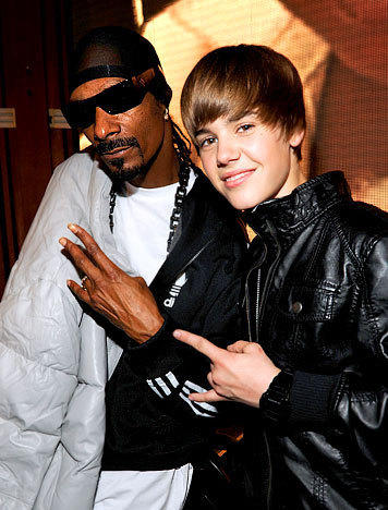 Snoop Dogg and Justin Bieber