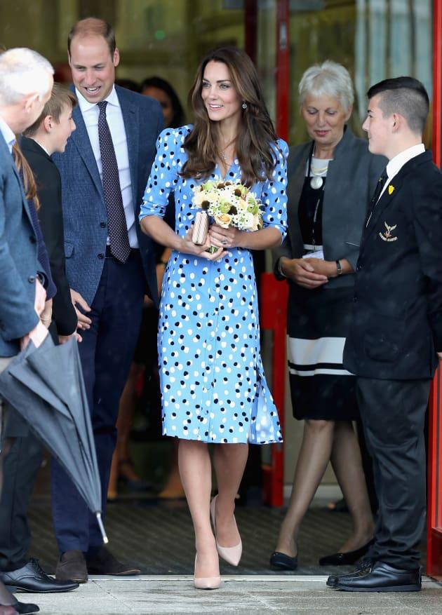 Kate Middleton Wardrobe Malfunction Duchess Dressed