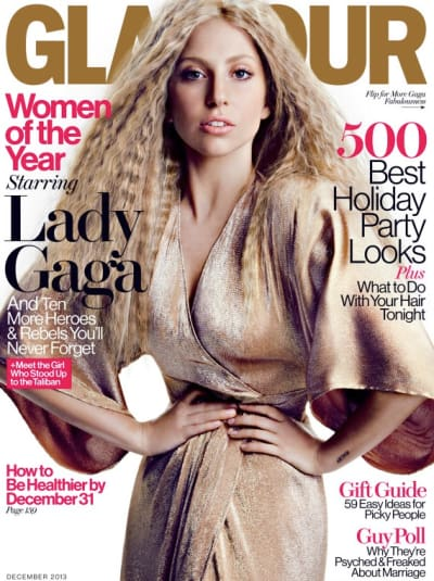 Lady Gaga Glamour Cover