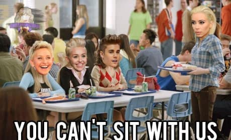 Kim Kardashian and the Mean Girls