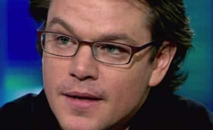 Matt Damon on Running For President: No Sir!